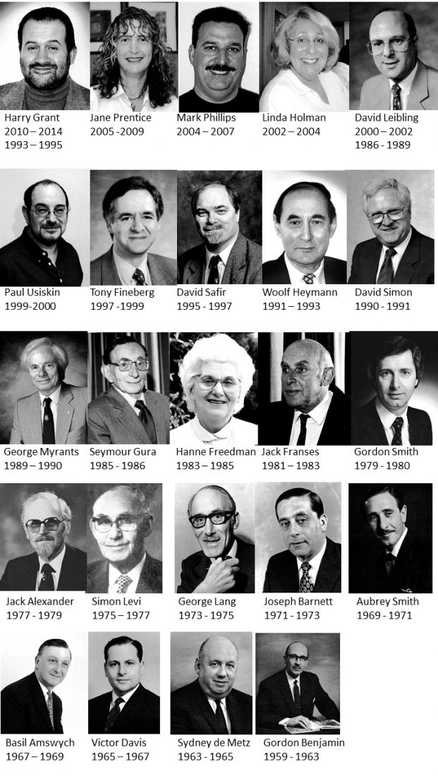 Mosaic Reform Chairmen