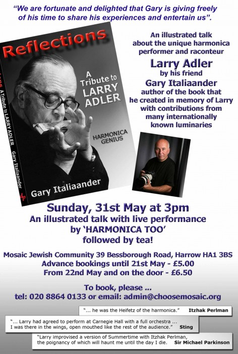 Gary Italiaander Book Talk - Sunday 31st May 2015