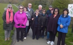 Attached is a photo of our group during the recent walk at Bentley Priory