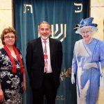 Photo of HEMS's Queen's 90th birthday kiddush